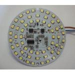 Светодиодный модуль 220 В, 10 Вт с встроенным микроволновым датчиком присутствия