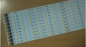 Светодиодная линейка VLD-18 470х10 мм, 27-27,9 В, 175-350 мА, 1225-1425 Лм
