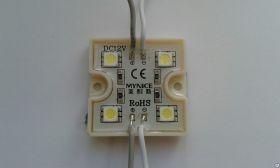 Кластеры SMD 5050 4-х диодные 0,96 Вт