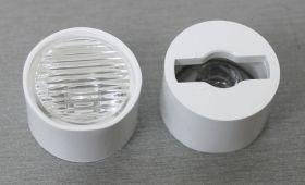 R-203HP01-3545L Ассимметричная оптика для светодиодов 3HP (эмиттер), 35х45 градусов