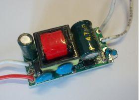 QH-7LP Светодиодный драйвер 220 В, 4-7 x 1 Вт, 260-300 мА
