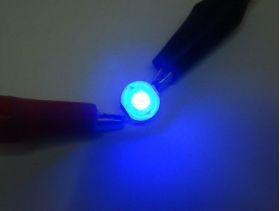 Свечение светодиода для растений 3GR-B