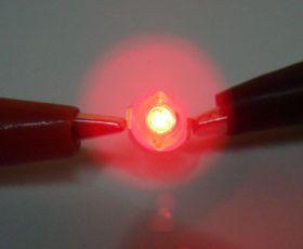 Свечение светодиода 3GR-R