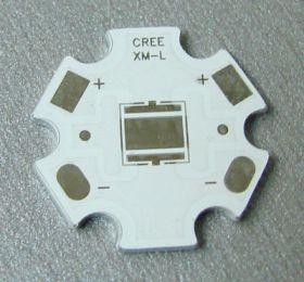 """""""Звезда """" XML Радиаторная пластина для мощных светодиодов Cree XML"""